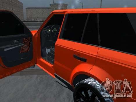 Range Rover Sport pour GTA San Andreas vue arrière