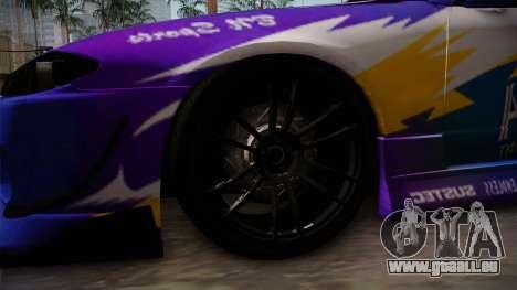 Nissan Silvia S15 BN-Sports pour GTA San Andreas vue arrière