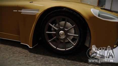 Aston Martin Racing DBRS9 GT3 2006 v1.0.6 YCH für GTA San Andreas Rückansicht