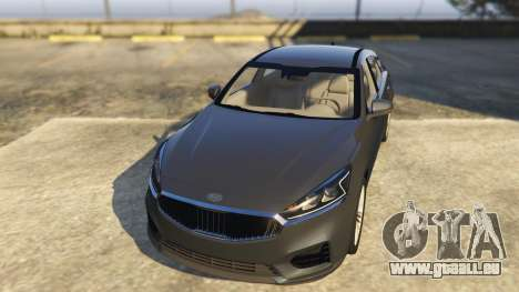 Kia Cadenza 2017 pour GTA 5