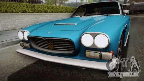 Maserati Serbin 4000 v0.1 (Beta) pour GTA San Andreas vue de droite