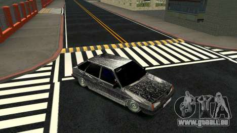 2109 Winter-version für GTA San Andreas Rückansicht