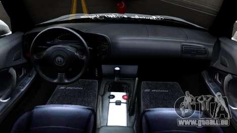 Honda S2000 für GTA San Andreas Innenansicht