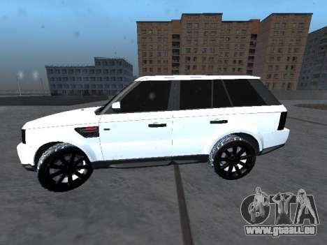 Range Rover Sport pour GTA San Andreas laissé vue