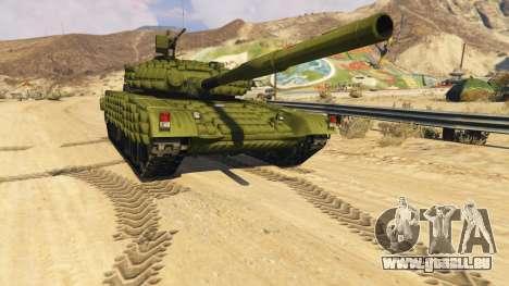 Tank T-72 pour GTA 5