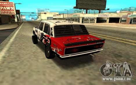 VAZ 2106 DRIFT für GTA San Andreas linke Ansicht