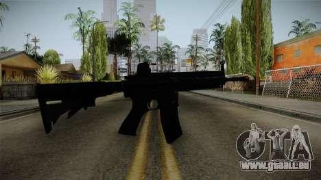 HK416 v1 pour GTA San Andreas deuxième écran