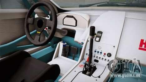 Aston Martin Racing DBRS9 GT3 2006 v1.0.6 YCH für GTA San Andreas Innenansicht