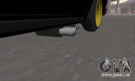 VAZ 2107 Black Jack für GTA San Andreas rechten Ansicht