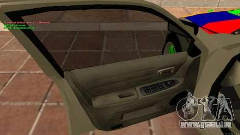 Toyota Altezza Armenian für GTA San Andreas Rückansicht