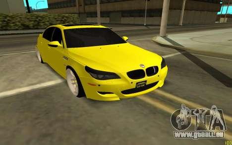 BMW 5 Series E60 pour GTA San Andreas