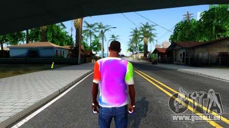 Mix T-Shirt pour GTA San Andreas troisième écran