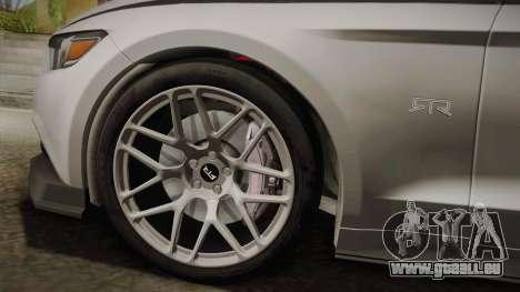 Ford Mustang RTR Spec 2 2015 pour GTA San Andreas sur la vue arrière gauche