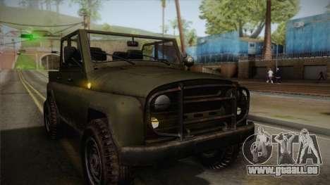 УАЗ-3151 CoD4 MW Remastered IVF für GTA San Andreas Seitenansicht