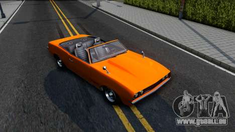 GTA V Declasse Vigero Retro Rim pour GTA San Andreas vue de droite