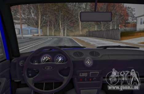 VAZ 2106 KBR für GTA San Andreas Rückansicht
