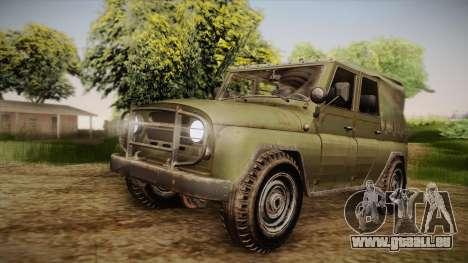 УАЗ-3151 CoD4 MW Remastered IVF für GTA San Andreas