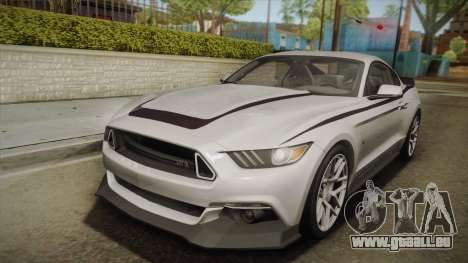Ford Mustang RTR Spec 2 2015 pour GTA San Andreas