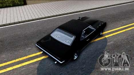 GTA V Declasse Vigero pour GTA San Andreas vue arrière