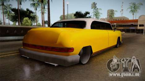 Custom Cab pour GTA San Andreas laissé vue