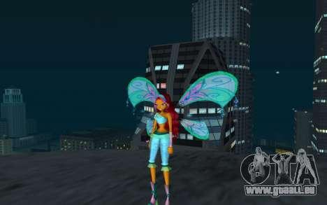 Aisha Believix from Winx Club Rockstars pour GTA San Andreas deuxième écran
