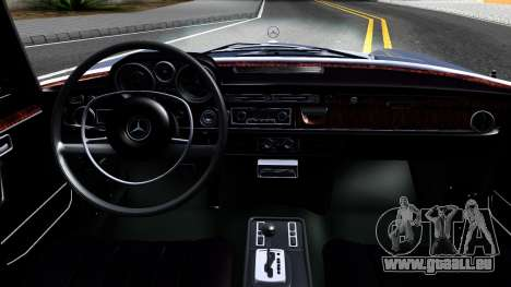 Mercedes-Benz 300SEL 6.3 für GTA San Andreas obere Ansicht