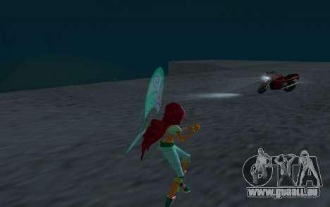 Aisha Believix from Winx Club Rockstars pour GTA San Andreas quatrième écran