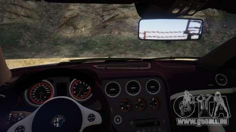 GTA 5 Alfa Romeo Spider 939 (Brera) vue arrière