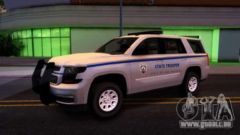 2015 Chevy Tahoe San Andreas State Trooper pour GTA San Andreas vue arrière