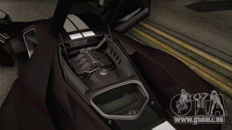 Ford GT 2017 Heritage Edition pour GTA San Andreas salon