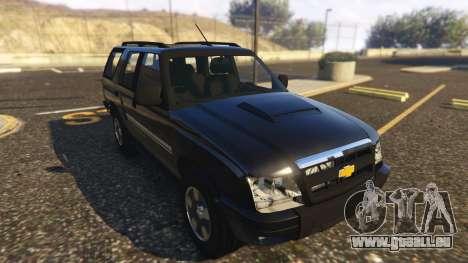 GTA 5 Chevrolet Blazer 4x4 Rückansicht
