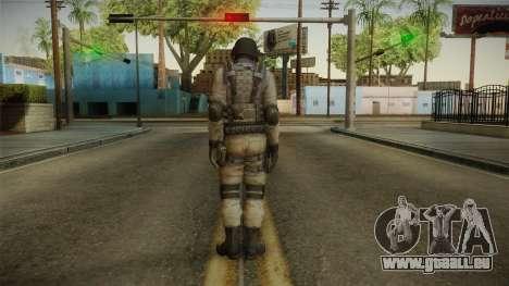 Resident Evil ORC - USS v3 pour GTA San Andreas troisième écran