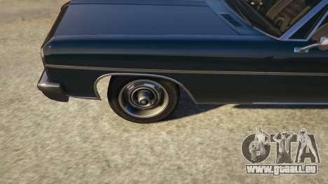 GTA 5 TLAD Regina Sedan vue arrière