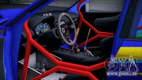 Subaru Impreza WRX STI WRC Rally 2005 für GTA San Andreas Rückansicht