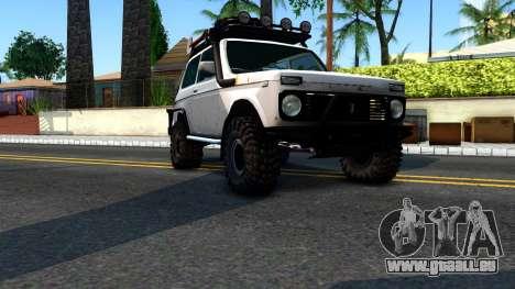 Lada Niva 4x4 Off Road für GTA San Andreas rechten Ansicht