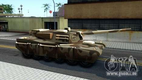Rhino GTA V pour GTA San Andreas laissé vue