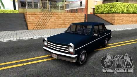 Perennial Sedan für GTA San Andreas