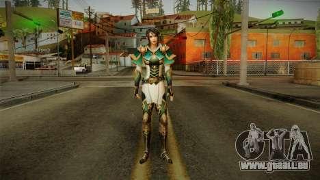 Dynasty Warriors 8 - Xing Cai pour GTA San Andreas deuxième écran
