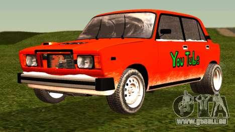 VAZ 2105-patch 4.0 für GTA San Andreas