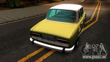 Skoda 100 für GTA San Andreas rechten Ansicht