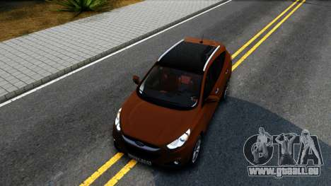 Hyundai ix35 Aze pour GTA San Andreas vue intérieure