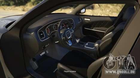 GTA 5 Dodge Charger 2016 rechte Seitenansicht