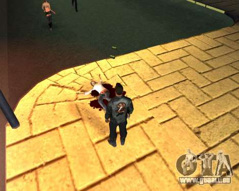 Pour transporter le cadavre de 2016 pour GTA San Andreas quatrième écran