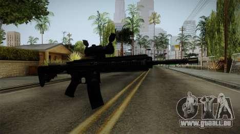 HK416 v2 pour GTA San Andreas deuxième écran