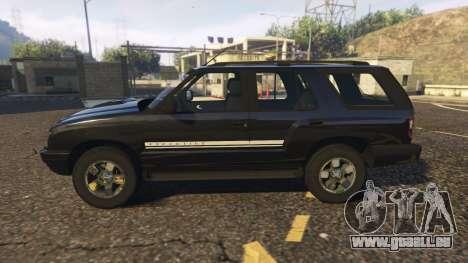 GTA 5 Chevrolet Blazer 4x4 linke Seitenansicht