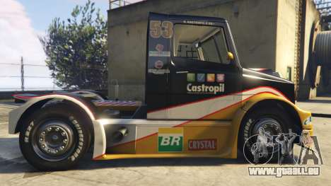 Ftruck Mercedes L Series v2 pour GTA 5