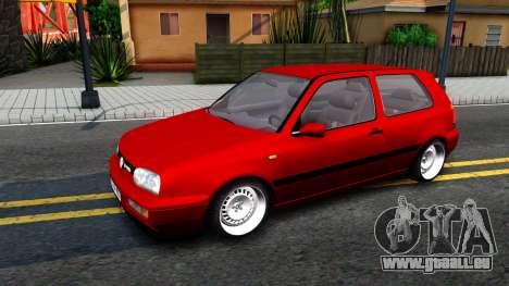 Volkswagen Golf Mk3 1997 für GTA San Andreas