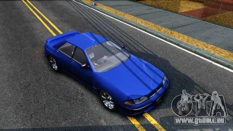 GTA V Zirconium Stratum Sedan pour GTA San Andreas vue de droite
