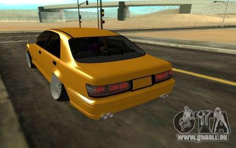 Crown S170 pour GTA San Andreas sur la vue arrière gauche