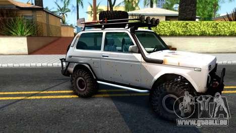 Lada Niva 4x4 Off Road pour GTA San Andreas laissé vue